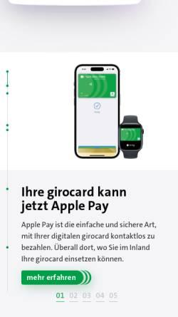 Vorschau der mobilen Webseite www.national-bank.de, National-Bank AG