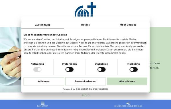 Vorschau von www.steyler-bank.de, Steyler Bank GmbH