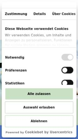 Vorschau der mobilen Webseite www.steyler-bank.de, Steyler Bank GmbH