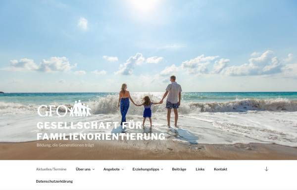 Vorschau von www.familienorientierung.at, Gesellschaft für Familienorientierung