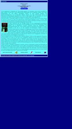 Vorschau der mobilen Webseite www.fragmentum.de, Michael Crichton: Timeline
