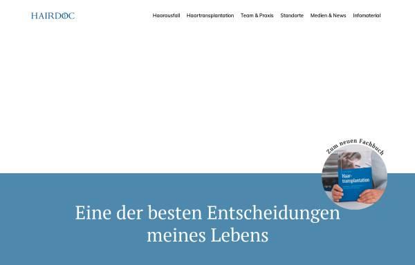 Vorschau von www.hairdoc.de, Neidel, Dr. Frank G.