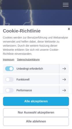 Vorschau der mobilen Webseite www.hanauer-hilfe.de, Hanauer Hilfe e.V.