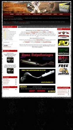 Vorschau der mobilen Webseite www.doma-auspuff.de, Doma-Auspuff Shop, Inh. Simon Jahn