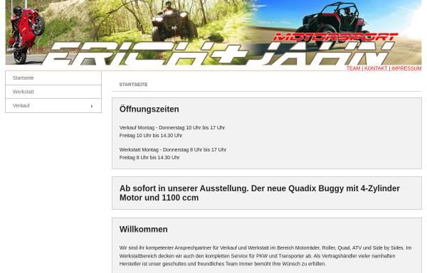 Vorschau von www.erich-jahn.de, Erich und Jahn Motorsport GbR