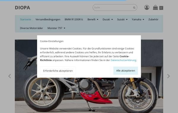 Vorschau von www.diopa.com, Kunststofftechnik Diopa GFK