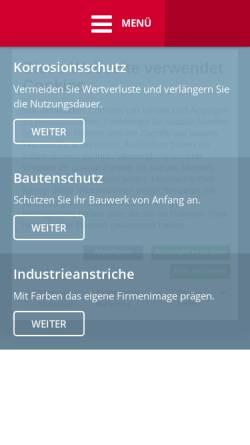 Vorschau der mobilen Webseite www.dietrich.de, Franz Dietrich AG