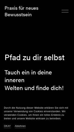 Vorschau der mobilen Webseite www.reiki-info.at, Margit Engel