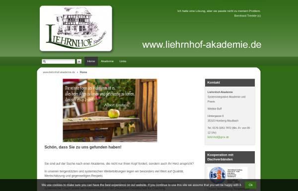 Vorschau von www.liehrnhof-akademie.de, Liehrnhof-Akademie für Systemintegrative Therapie (SiT)