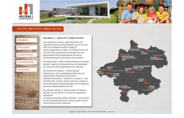 Vorschau von www.holzbau1.at, Holzbau 1