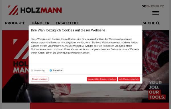 Vorschau von www.holzmann-maschinen.at, Holzmann Maschinen