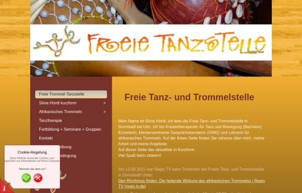 Vorschau von www.freie-tanzstelle.de, Freie Tanzstelle mit Silvia Hördt