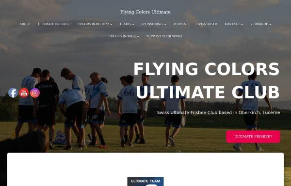 Vorschau von www.colors.ultimate.ch, Flying Colors