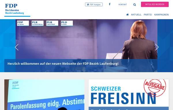 Vorschau von www.fdp-bezirk-laufenburg.ch, FDP Bezirk Laufenburg