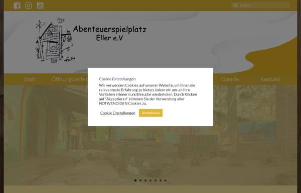 Vorschau von www.asp-eller.de, Abenteuerspielplatz Eller e.V.