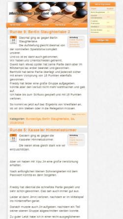 Vorschau der mobilen Webseite www.digoc.de, Düsseldorfer Internet Go Club