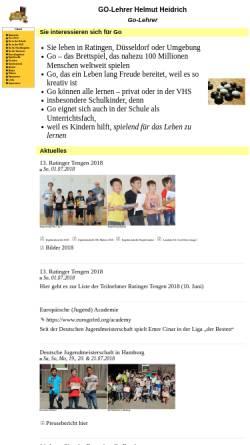 Vorschau der mobilen Webseite www.go-lehrer.de, Go-Lehrer Helmut Heidrich