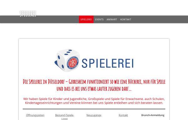 Vorschau von www.spielerei-duesseldorf.de, Spielerei Düsseldorf