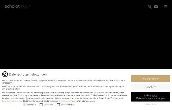 Vorschau von www.echolot.de, Echolot Werbeagentur GmbH