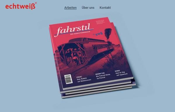 Vorschau von www.echtweiss.de, Echtweiß Corporate Design