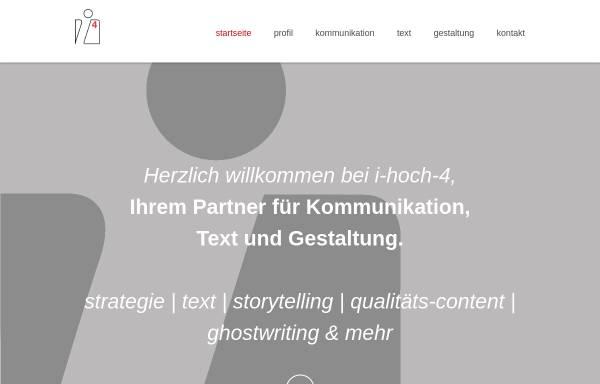 Vorschau von www.i-hoch-4.de, I-hoch-4 gmbh