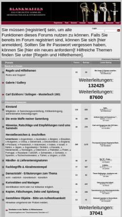 Vorschau der mobilen Webseite deutsches-blankwaffenforum.de, Deutsches Blankwaffenforum