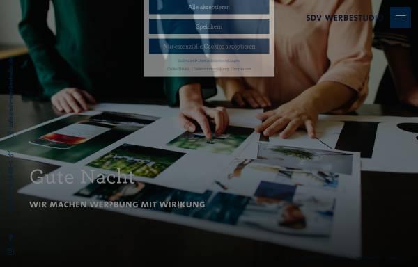 Vorschau von www.sdv-werbestudio.de, SDV Werbestudio