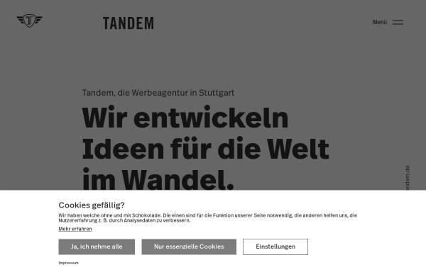 Vorschau von www.agentur-tandem.de, Tandem Kreativ - /Media-Service für Werbung GmbH
