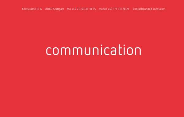 Vorschau von www.united-ideas.de, United ideas - Judith M. Grieshaber