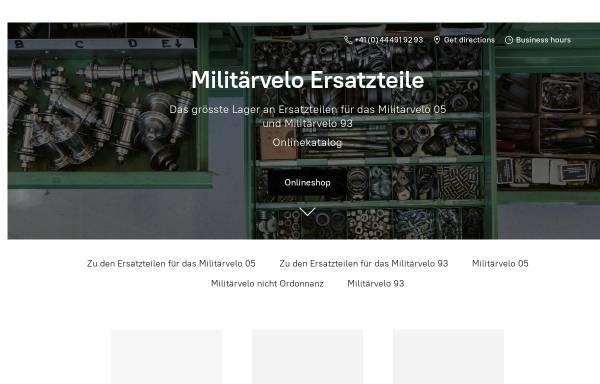 Vorschau von www.militaerveloshop.ch, Militärfahrräder der Schweizer Armee