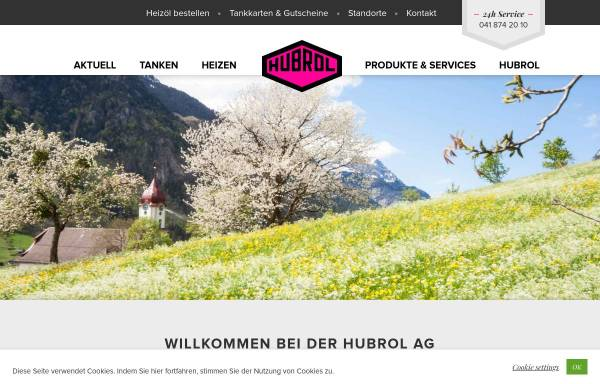 Vorschau von www.hubrol.ch, Hubrol AG