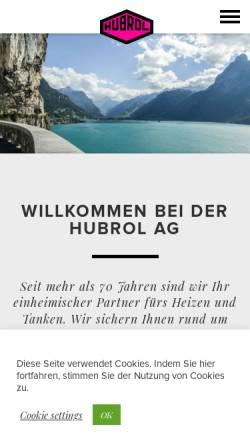 Vorschau der mobilen Webseite www.hubrol.ch, Hubrol AG