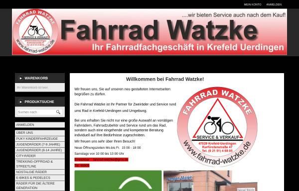 Vorschau von www.fahrrad-watzke.de, Fahrrad-Watzke
