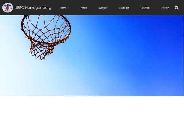 Vorschau von www.ubbc-herzogenburg.at, UBBC Herzogenburg