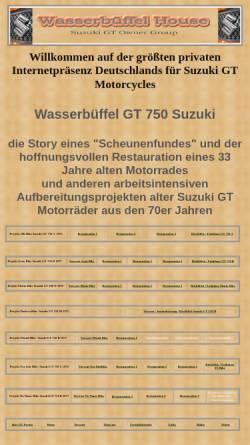Vorschau der mobilen Webseite www.mariolange.de, GT 750 Wasserbüffel Restauration