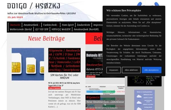 Vorschau von dd1go.de, DD1GO