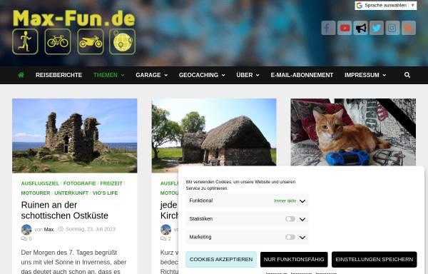 Vorschau von www.max-fun.de, DD6VSK