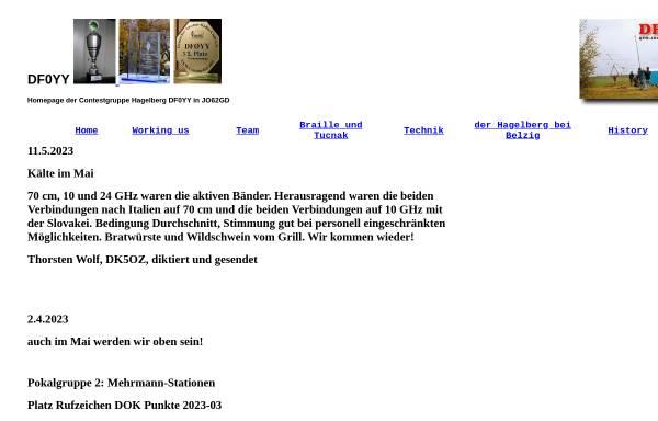 Vorschau von www.df0yy.de, DF0YY