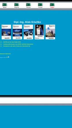 Vorschau der mobilen Webseite www.dj0tr.de, DJ0TR, OE8AK