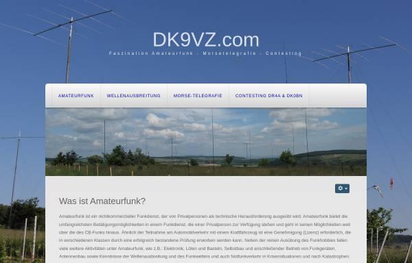 Vorschau von dk9vz.com, DK9VZ