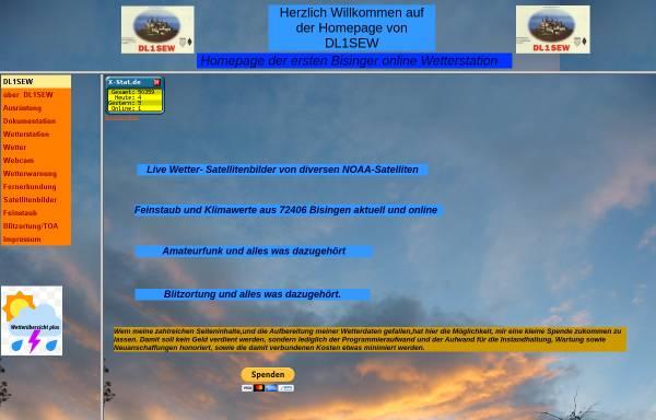 Vorschau von www.dl1sew.de, DL1SEW