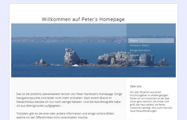 Vorschau von www.handrack.net, DM3XRF