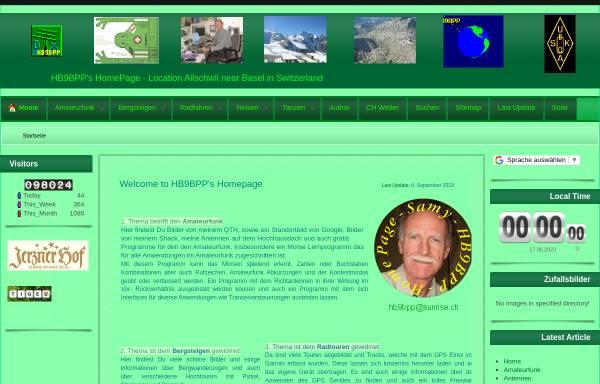 Vorschau von www.hb9bpp.ch, HB9BPP