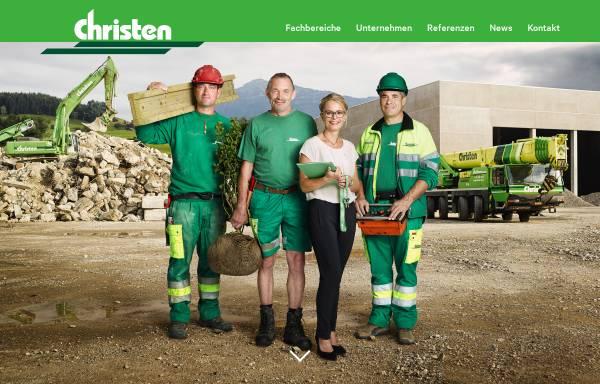 Vorschau von www.christen-ag.ch, Christen AG Bauunternehmung