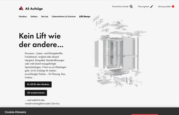 Vorschau von www.henseler.ch, Henseler Aufzüge