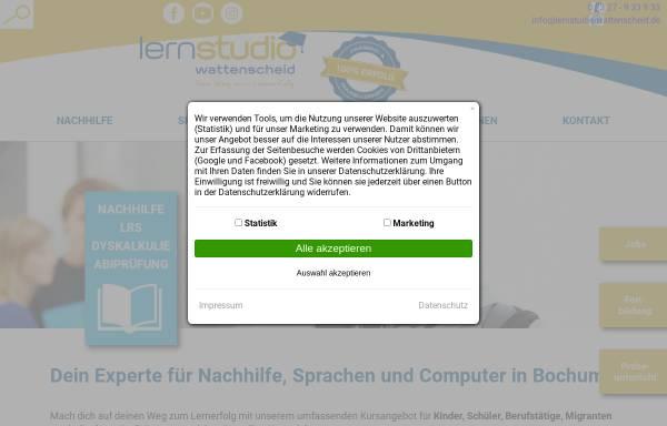 Vorschau von www.lernstudio-wattenscheid.de, Das Lernstudio Wattenscheid