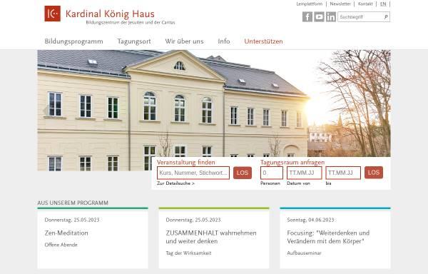 Vorschau von www.kardinal-koenig-haus.at, Kardinal König Haus