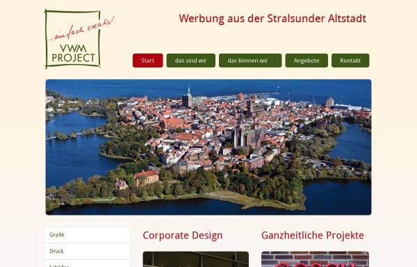 Vorschau von www.vwm-project.de, VWM Project Verlags-, Werbe- und Marketing GmbH