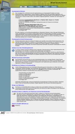 Vorschau der mobilen Webseite www.mcsoft.at, MCSoft