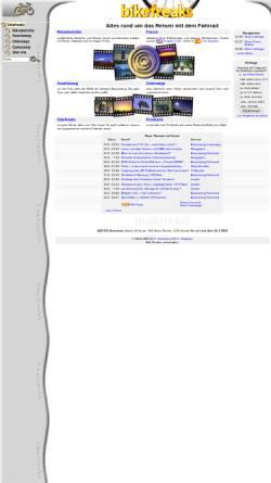 Vorschau der mobilen Webseite www.bikefreaks.de, Bikefreaks